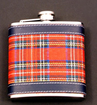 6ozTartan Hip Flask