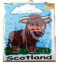 Childrens T-Shirt - Highland Cow