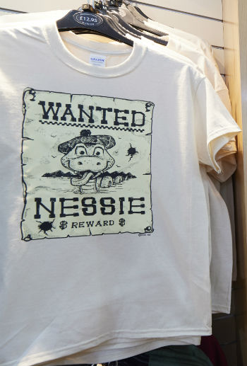 Wanted Nessie T Shirt