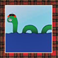 Nessie greetings card