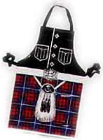 Scottish Kilt Apron p.v.c