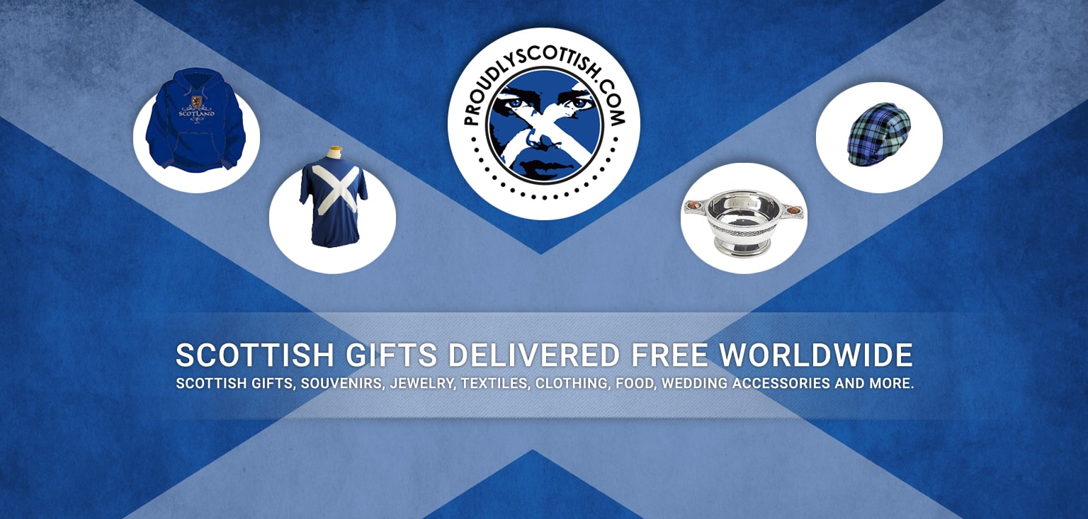 Scottish gifts delivered free from world wide