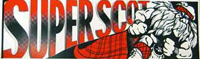 Superscot car sticker