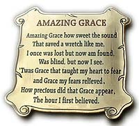Amazing Grace Fridge Magnet