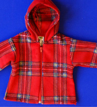 Fleece Tartan Jacket