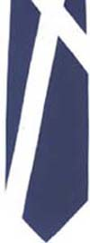 Full Saltire polyester tie