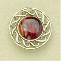 Heathergem Pewter Brooch (hb51)