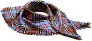Tartan Headsquare (100% pure new wool)