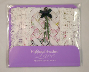 Perfumed Heather Warbrobe Hanger