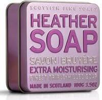 Heather Soap 100grm Tin