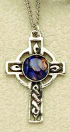 Heathergem Pewter Cross Pendant (hp32)