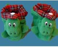 Nessie Baby Bootees