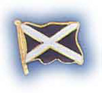 St Andrews Flag Lapel Badge