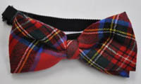 Tartan Bow Tie (adjustable elastic)