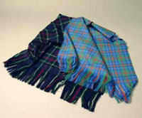 Scottish tartan stole