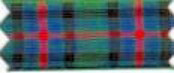 "Polyester Tartan Ribbon in a 72mm (approx 2.9"")"