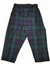 Boys Tartan Trousers (Black Watch)