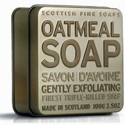Oatmeal Soap 100grm Tin
