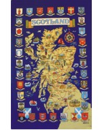 Scottish Map (Cities and Towns)