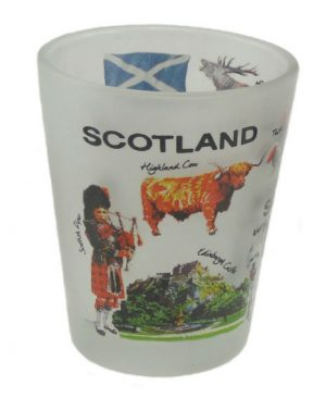 Iconic Scotland Shot Glass