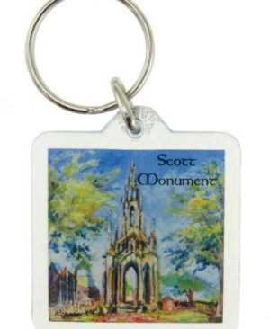 Scott Monument Keyring