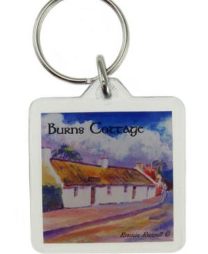 Robert Burns Cottage Keyring