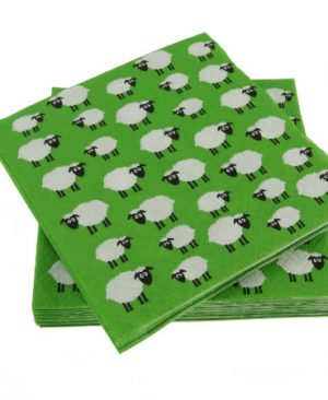Sheep Cocktail Napkins