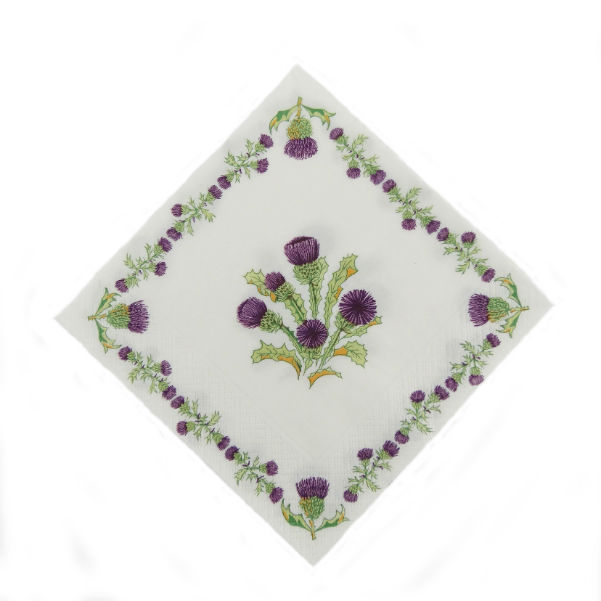 Scottish Thistles Napkins