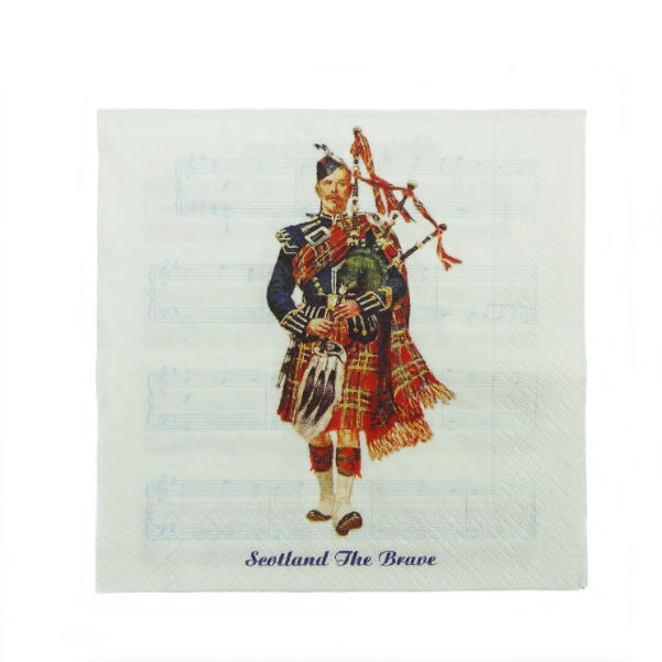 Musical Piper Napkins
