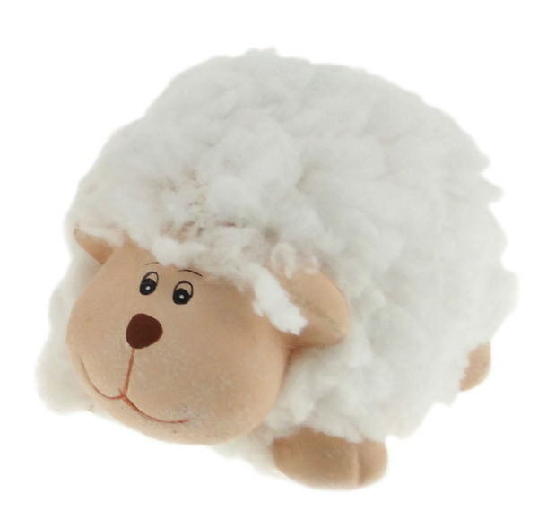Smiling Sheep Ornament