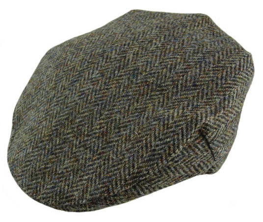 Gents Harris Tweed One-Size Cap