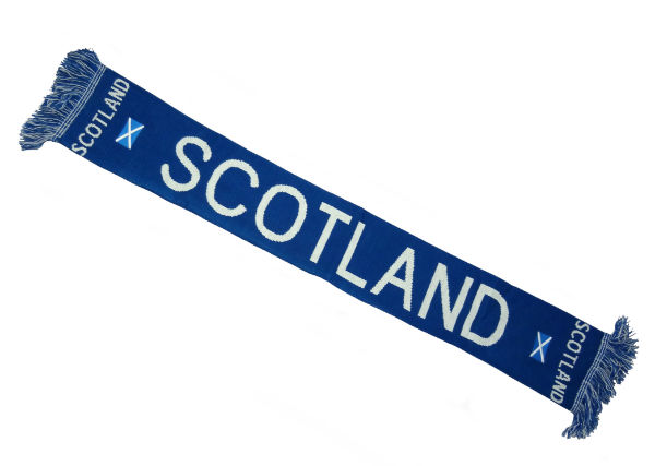 Knitted Scotland Scarf