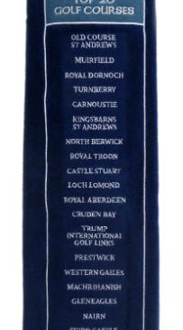 Top 20 Courses Golf Towel
