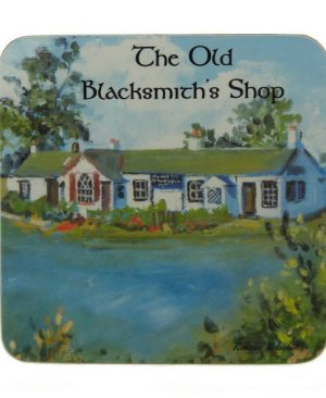 The Old Blacksmith's Shop Coaster