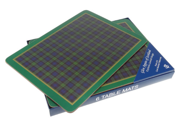 Black Watch Table Mats