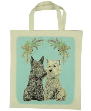 Dogs Cotton Bag