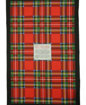 Royal Stewart Tea Towel