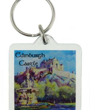 Edinburgh Castle Keyring