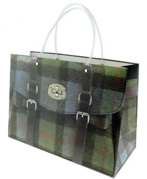 Tweed Handbag Gift Bag