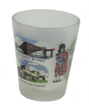 Historical Scotland Shot Glass