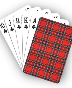 Playing Cards - Royal Stewart