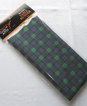 Tartan Table Runner (Black Watch)